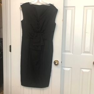 Nanette Lepore black silk dress